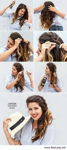 Hair tutorials from Be A Lady