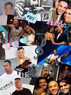 A collage of bæ a.k.a Cyrus