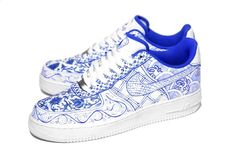 Nike air force 1 porcelain dynasty custom by c2-1.  I want these, but I'd probably never wear them because I wouldn't want to get them dirty!
