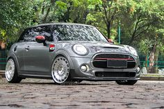 Mini Cooper S F56 + Rotiform CCV Machined Silver
