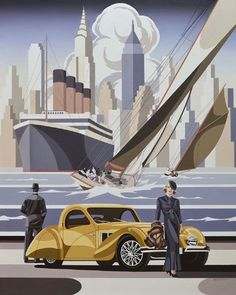 Paint Meaning, Bugatti, Art Auction, Arsenal, Grand Prix, Beverly Hills, Home Art, Art Deco, Gallery