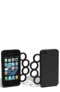 Rebecca Minkoff 'Knuckles' iPhone 4 & 4S Case