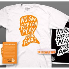 """World Suicide Prevention Day packs are now available in the TWLOHA Online Store. Each pack comes with a shirt, bracelet, 11"""" x 17"""" poster print & 15 #NoOneElse14 info cards. There is also the option of a girls sleeveless shirt.  -- #WSPD14 #NSPW14"""