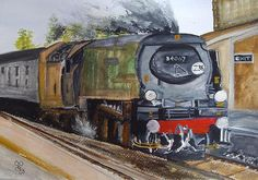 Tangmere watercolour