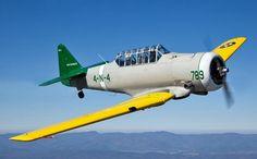 North American AT-6D Texan aircraft