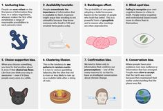 Do you really thing you are a rational person? Are you aware of the way these cognitive biases screw up your decisions?