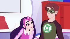 DC Super Hero Girls Carol Ferris / Star Sapphire & Hal Jordan / Green Lantern