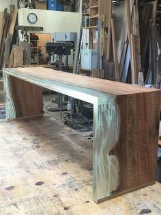 San Diego Urban Timber is killin' it with their one-of-a-kind wood and resin furniture pieces!