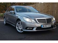 Used 2010 (60 reg) Silver Mercedes-Benz E Class E220 CDI BlueEFFICIENCY Sport 4dr Tip Auto for sale on RAC Cars