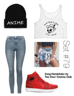 """""""No Name (Desc.)"""" by emma-natalie ❤ liked on Polyvore featuring Topshop and NIKE"""