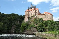 Burg Kriebstein bei Waldheim in Sachsen