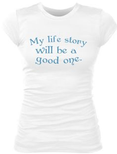 My Life Story tee by StartingLineupTees on Etsy, $20.00  https://www.etsy.com/listing/170598783/my-life-story-tee