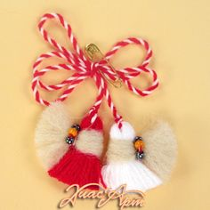мартеници - Google Search Snowman Christmas Ornaments, Christmas Crafts, Baba Marta, Santa Boots, Celebration Quotes, Craft Activities For Kids, Stone Art, Gold Accents, Paper Cutting