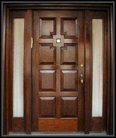 Wooden Glass Door, Wooden Sliding Doors, Wood Front Doors, Entry Doors, Wooden Windows, Oak Doors, Glass Doors, Main Entrance Door Design, Wooden Front Door Design