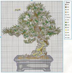 Haft krzyżykowy. Bonsai karłowate drzewa na poduszki. - Dyskusja na temat LiveInternet Pamiętniki rosyjskie Serwis Online