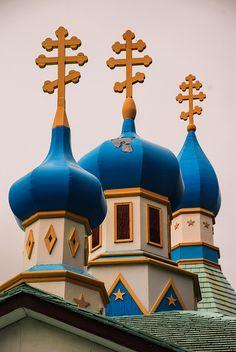 Kenai Russian Orthodox Church in alaska