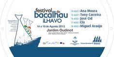 FESTIVAL | Festival do Bacalhau | 14 a 18 de Agostonho | Gafanha da Nazaré (Ílhavo)