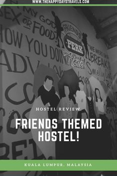 Are you a fan of the TV show Friends? You will love this post in celebration of 25 years of Friends, stay at this Friends themed hostel in KL, Malaysia! Malaysia Trip, Malaysia Travel, Asia Travel, Work Travel, Travel Goals, Travel Advice, Friends Tv Show, True Friends, Working Holidays