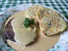Hovězí v jemné křenové omáčce – Maminčiny recepty What To Cook, Food 52, Stew, Potato Salad, Mashed Potatoes, Menu, Cooking, Ethnic Recipes, Sauces