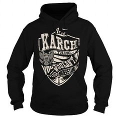 I Love Its a KARCH Thing (Eagle) - Last Name, Surname T-Shirt T shirts