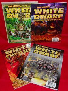 White Dwarf No. 278 No. 279 No. 280 No. 281 Games Workshop Hobby Magazines #WhiteDwarf