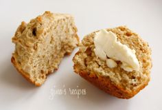 Whole Wheat Irish Soda Bread Muffins #bread #Irish #muffins