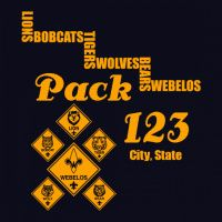 Cub Scout Pack T-Shirt Design Ideas from ClassB Cub Scout Shirt, Cub Scouts, Custom T, Scouting, Shirt Ideas, Cubs, Shirt Designs, Packing, Design Ideas