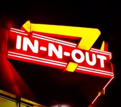October 2013: In-N-Out Burger in San Francisco, California.