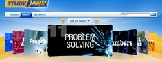 """This is an image from this resource on the Internet4Classrooms' """"Seventh Grade Interactive Math Skills - Word Problems"""" resource page:    Problem Solving Videos.    Video topics: Identifying Missing or Extra Information, Estimate Whole Numbers, Order of Operations, Creating Equations from Word Problems, and Determine the Missing Operation n an Equation"""