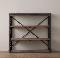 """French Library Low Shelving Overall: 42""""W x 14""""D x 40""""H Shelf: 39""""W x 13""""D"""