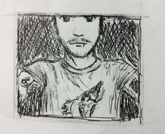 Selfies in Pencil - #selfie #art #drawing  www.selfiesnation.com