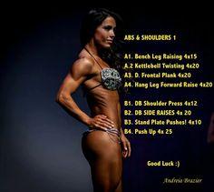 Andrea Brazier Abs/Shoulders