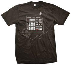 Beat Machine from Official J Dilla Merchandise Geek Humor, Funny Geek, J Dilla, Recording Studio Home, Music Pics, Geek Chic, Indie Brands, Dress Codes, Good Music