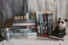Rainbow Books - Grey Books and pretty things