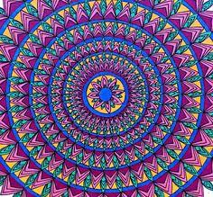 Mandala Art Art Print by JenySt | Society6
