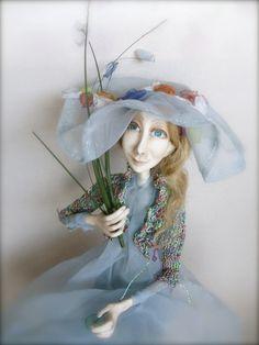 OOAK art doll   Sky in bloom by JRlele on Etsy, $180.00