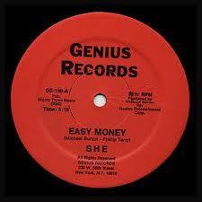 Funk-Disco-Soul-Groove-Rap: She - Easy Money