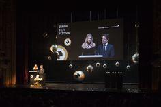 Nadja Schildknecht und Karl Spoerri at the Award Night 2011 Zurich, Film Festival, Filmmaking, Awards, Presents, Night, Creative, Movie Theater, Gifts
