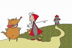La verdadera historia del lobo feroz. Cuentos clásicos http://www.encuentos.com/cuentos-clasicos/la-verdadera-historia-del-lobo-feroz/