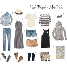 Road Trip - What to Pack