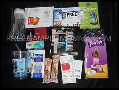 Received Free Samples for May 2013