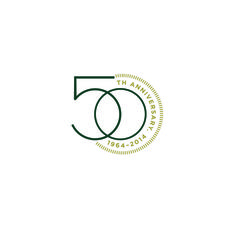MSU College of Human Medicine 50th Anniversary logo created by Extra Credit…