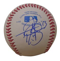 Tony Barnette Autographed Rawlings ROLB1 Leather Baseball, Proof Photo. Tony Barnette Signed Rawlings Baseball, Texas Rangers, Tokyo Yakult Swallows, Proof  This is a brand-new Tony Barnette autographed Rawlings official league leather baseball. Tony signed the baseball in blueball point pen.Check out the photo of Tony signing for us. ** Proof photo is included for free with purchase. Please click on images to enlarge. Please browse our websitefor additionalMLB autographed…