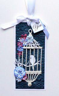 Memory Box Birdcage die...tag...My Mindful Creations
