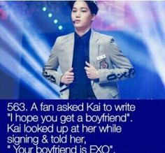K-pop: Where even the artists let you believe you get a chance.  Hahahaa