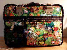 lesportsac Tokidoki 9528 FORESTA Trenino laptop messenger bag (RARE!)