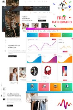 Signify eCommerce is an ultimate ecommerce HTML template. It has all the required tools and features to create a super fast responsive ecommerce with amazing Html Templates, Wordpress Template, Google Web Font, First Website, Social Media Pages, Create Website, Social Media Icons, Life Photography, Website Template