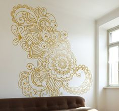 Turn your wal into an art gallery with this elegant and beatiful wall #art #decoration.