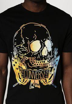 Converse - STREAMING - T-Shirt print - converse black