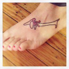 Picasso dachshund tattoo!!